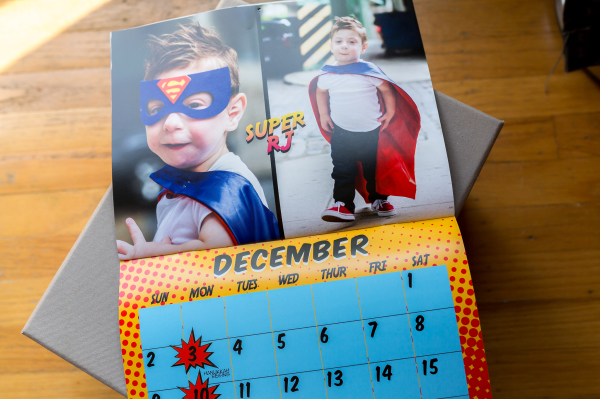 The Superhero Project 2018 Calendar