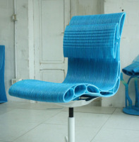 Office chair created with WASP 3D printers