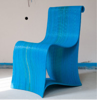 single chair created with WASP 3D printers