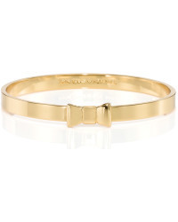 Kate Spade Take A Bow Gold Colour Bangle bracelet