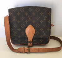 Louis Vuitton Cartouchiere- Monogram Canvas & Leather