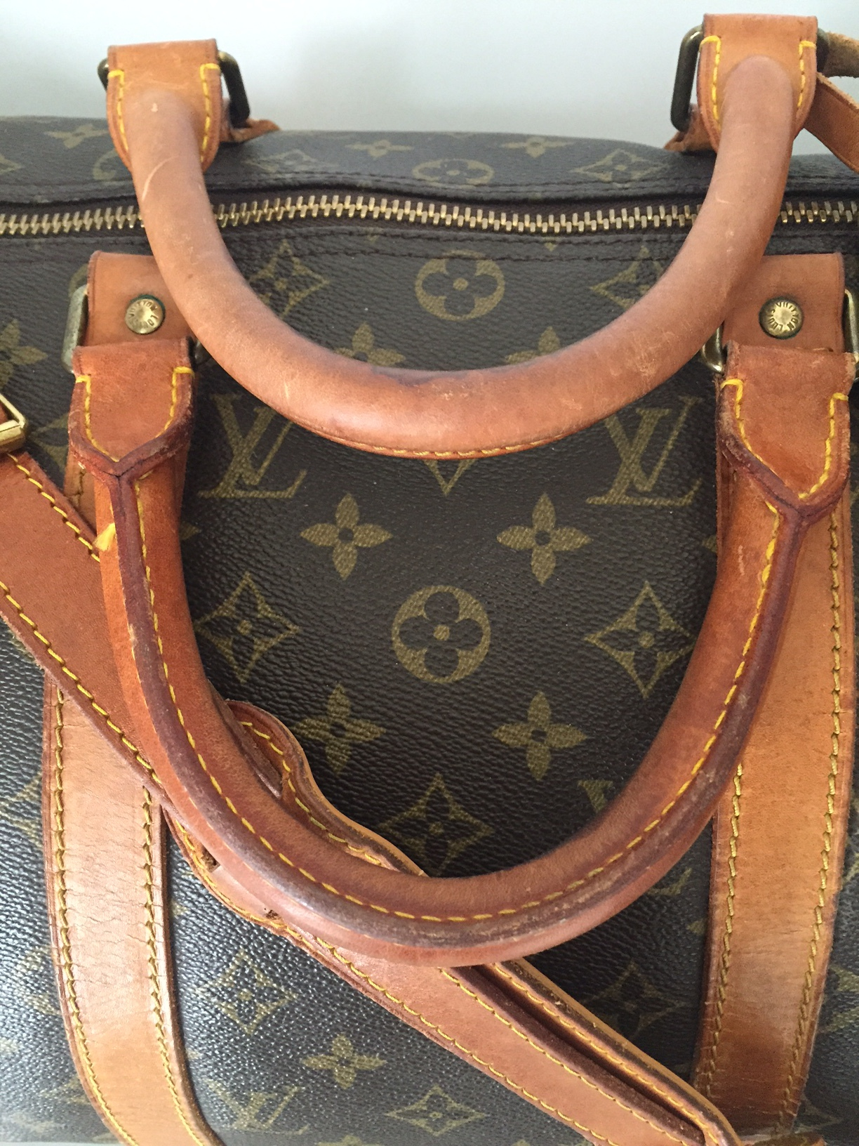 Louis Vuitton preowned Keepall 50 Duffle Travel Bag