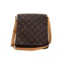 Louis Vuitton, preowned, musette, salsa, shoulder bag, monogram