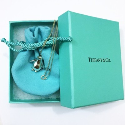 Tiffany & Co Silver Penguin Necklace  $325 SALE  $195