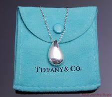 Tiffany & Co Teardrop Necklace Large $325 SALE  $150