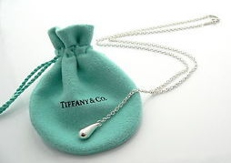 Tiffany Teardrop Necklace Small SALE  $90
