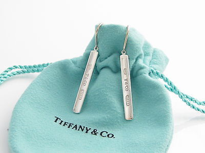 Tiffany & Co 1837 Bar Drop Earrings $175 SALE $105