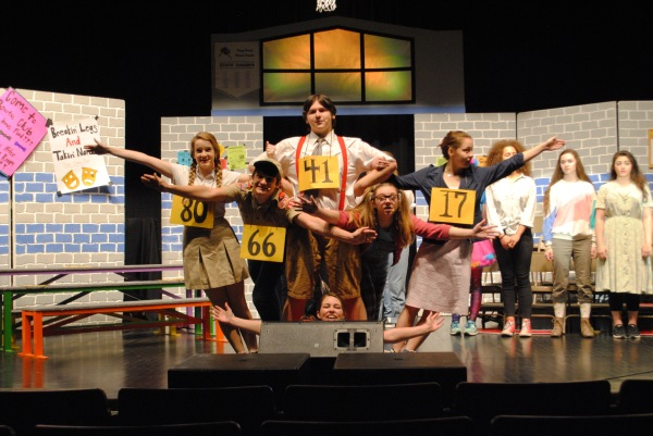 EHS Theatre Company's Production of The 25th Annual Putnam County Spelling Bee.