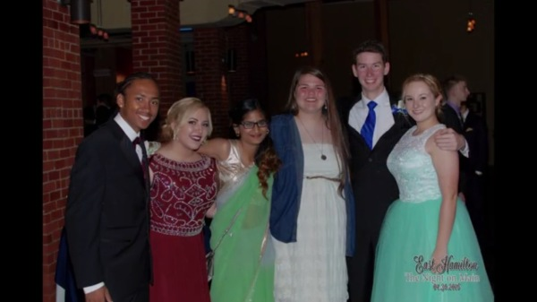 Students enjoying their prom  at The Mill in 2016.