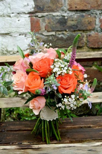 Colourful bridal