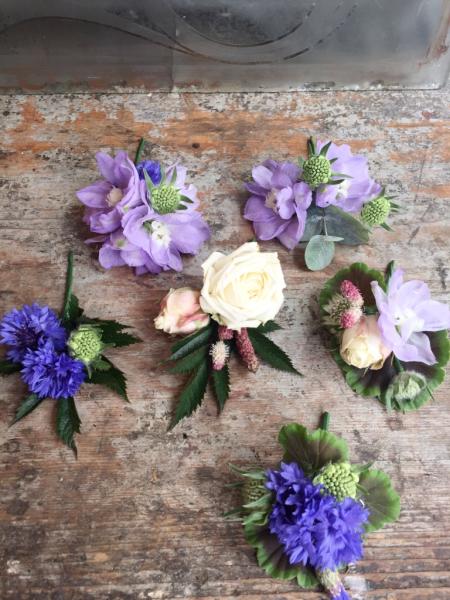 Summer buttonholes