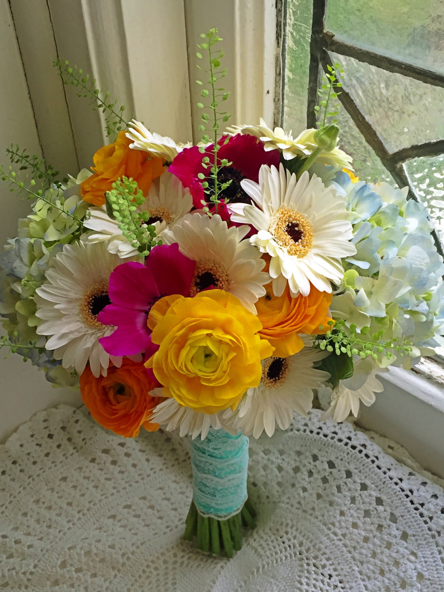 Gerberas Bridal Bouquet