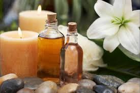 Organic oils for massage