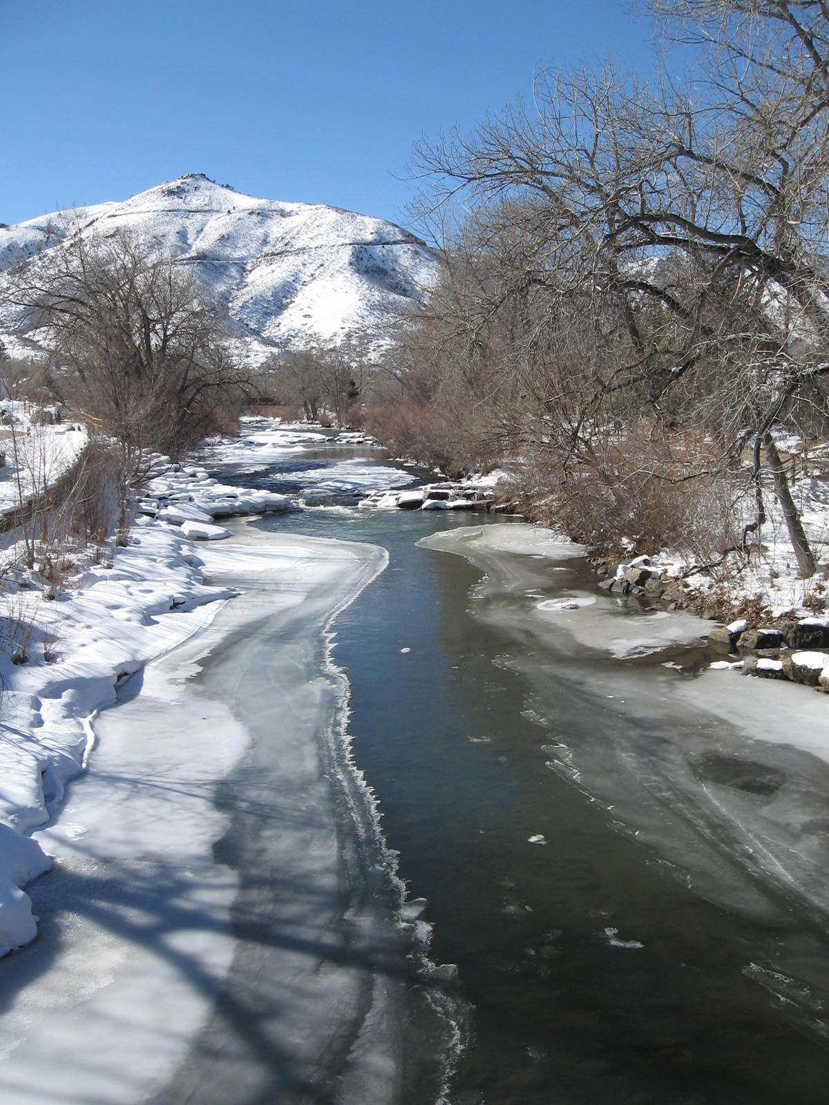 Clear Creek, in Historic Golden CO