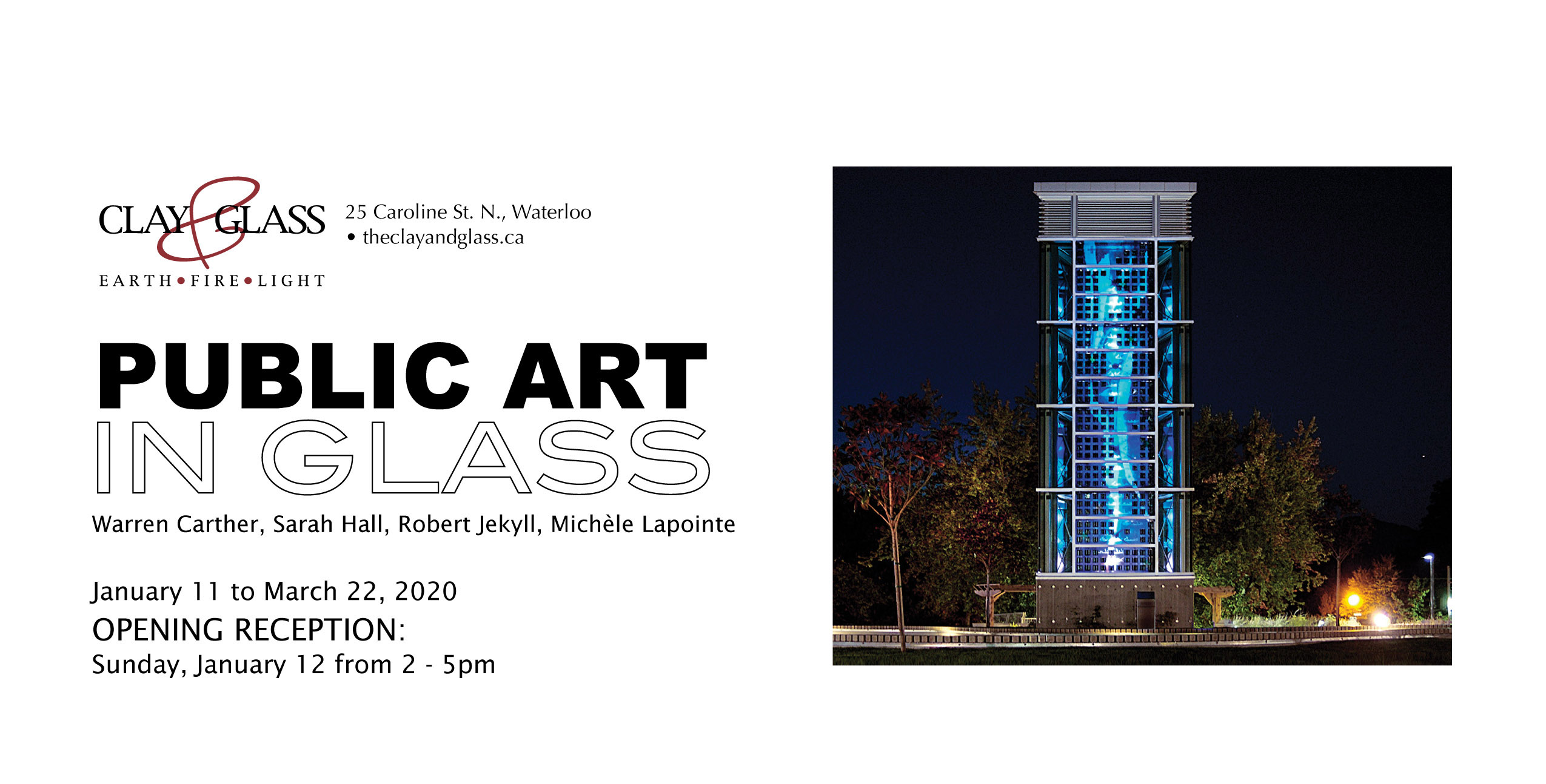 Public Art In Glass Exhibition