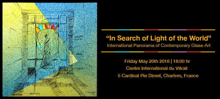 """""""In Search of Light of the World"""" in Chartres, France"""