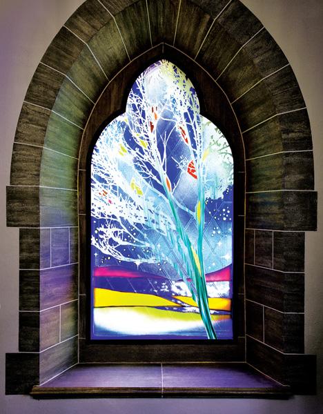 Centennial Window by Sarah Hall