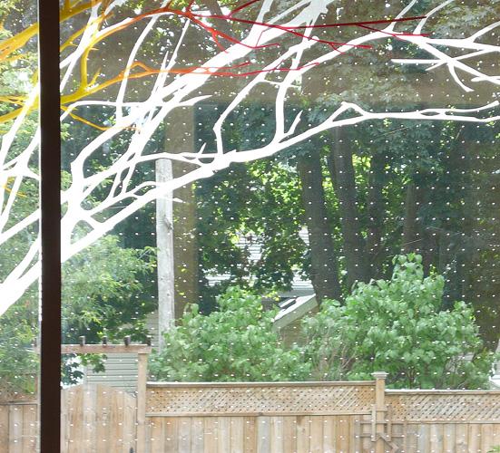 Bird-friendly Art Glass by Sarah Hall