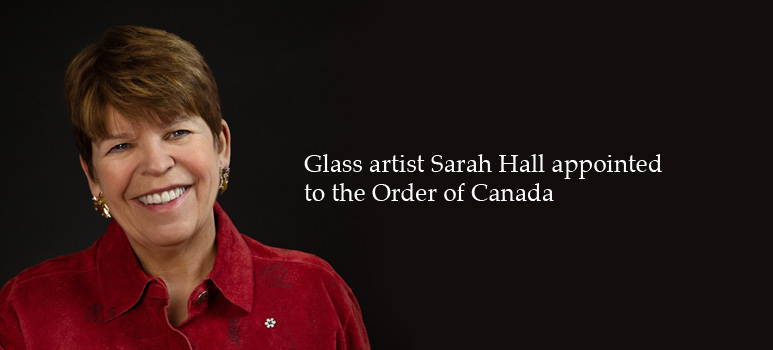 Sarah Hall appointed to the Order of Canada