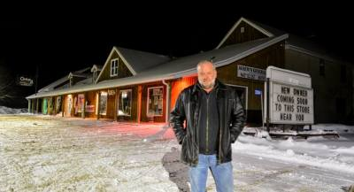 New Face at Agnew's General Store