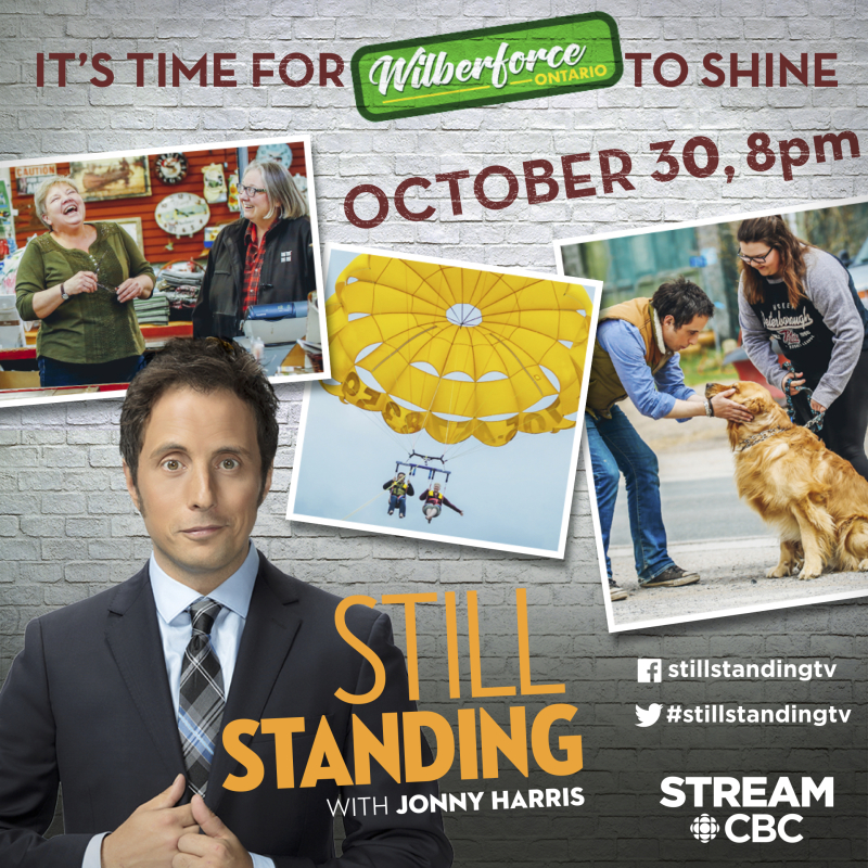 Wilberforce Episode of Still Standing on CBC