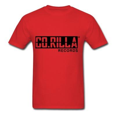 Mens Corilla Records T-shirt