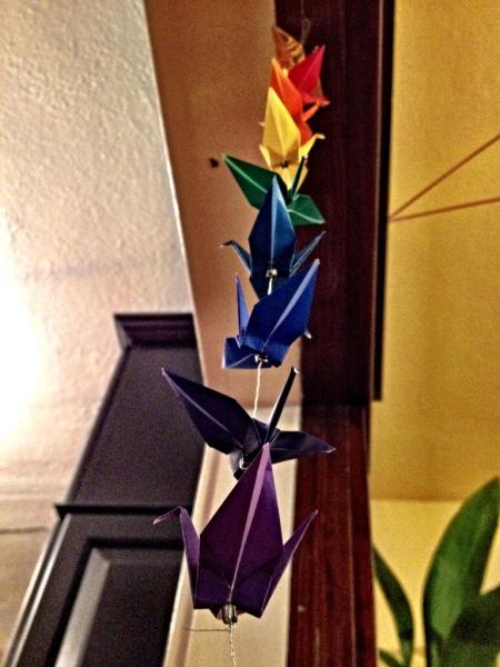 Crane Rainbow