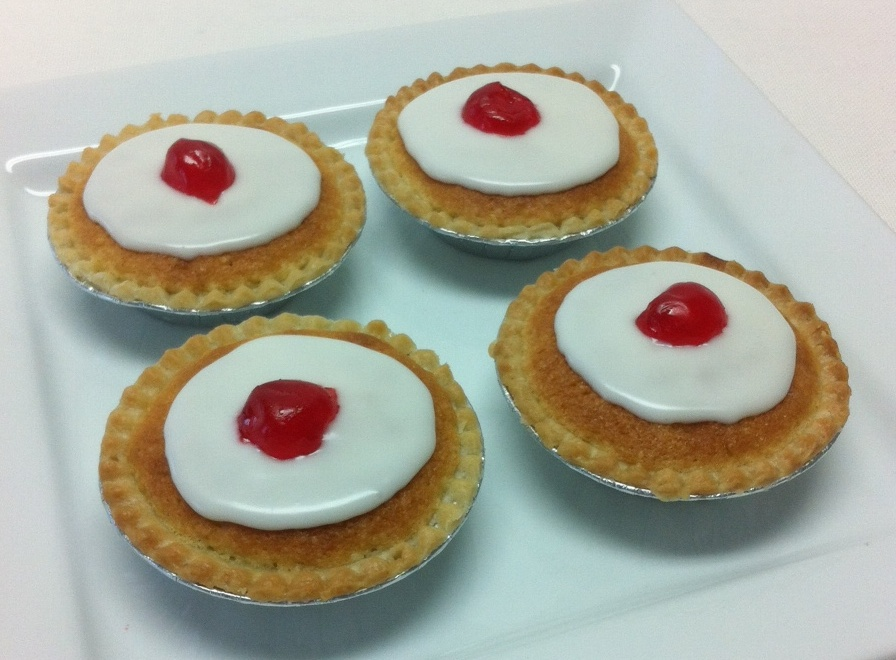 Bakewell tart, cherry bakewells