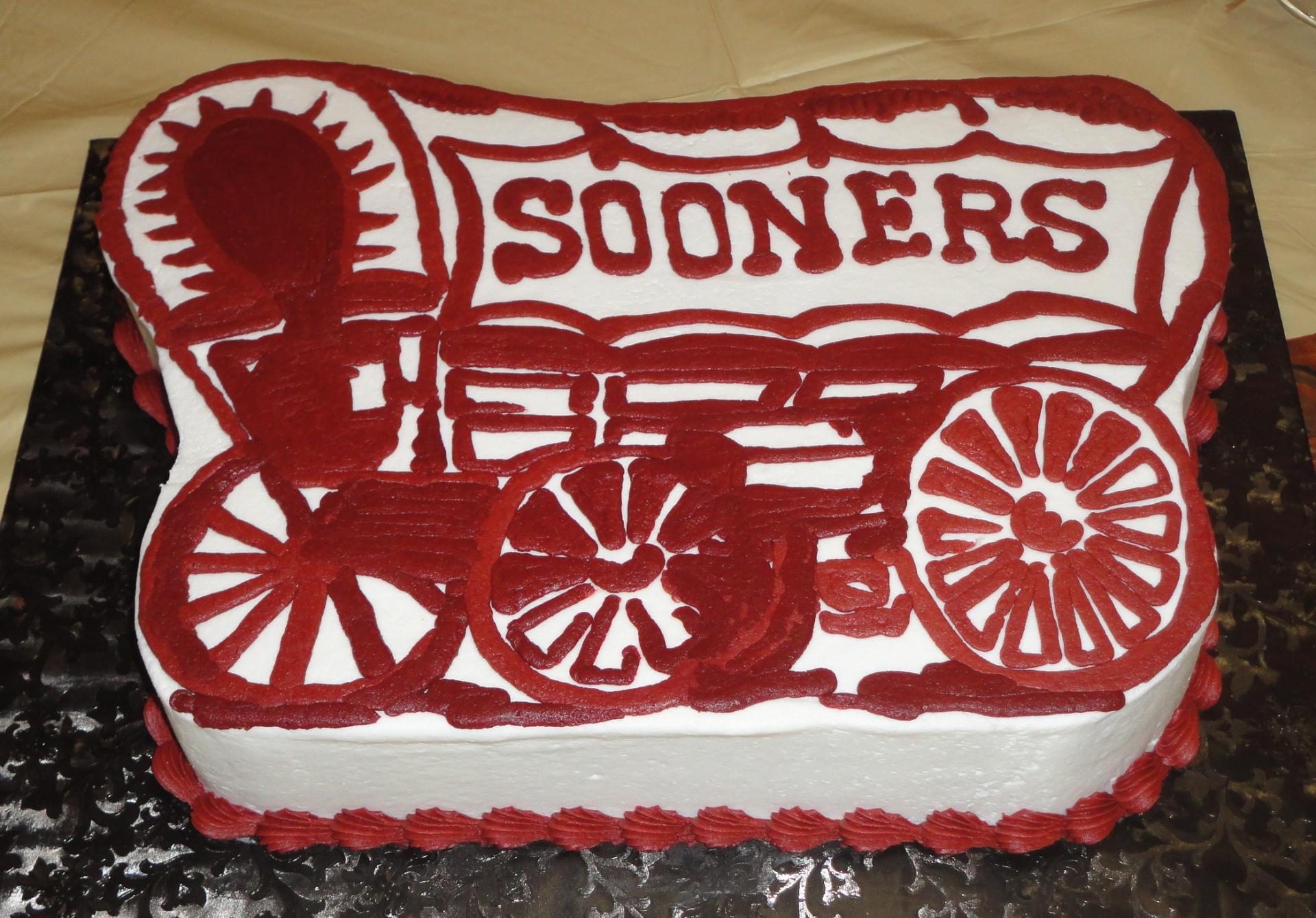 OU grooms cake