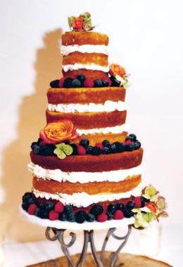 Undressed cake