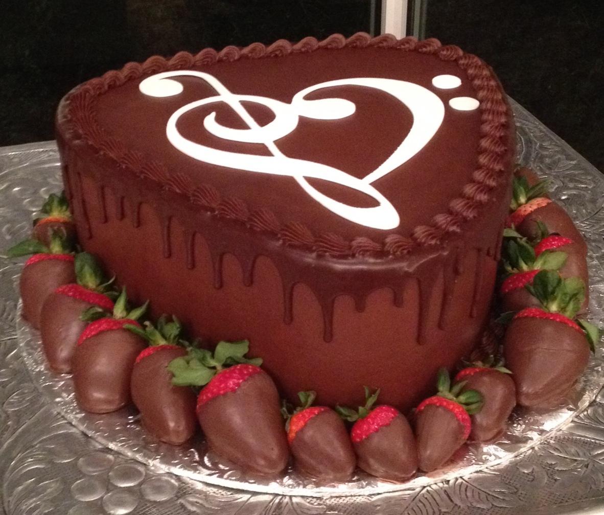 guitar pick cake