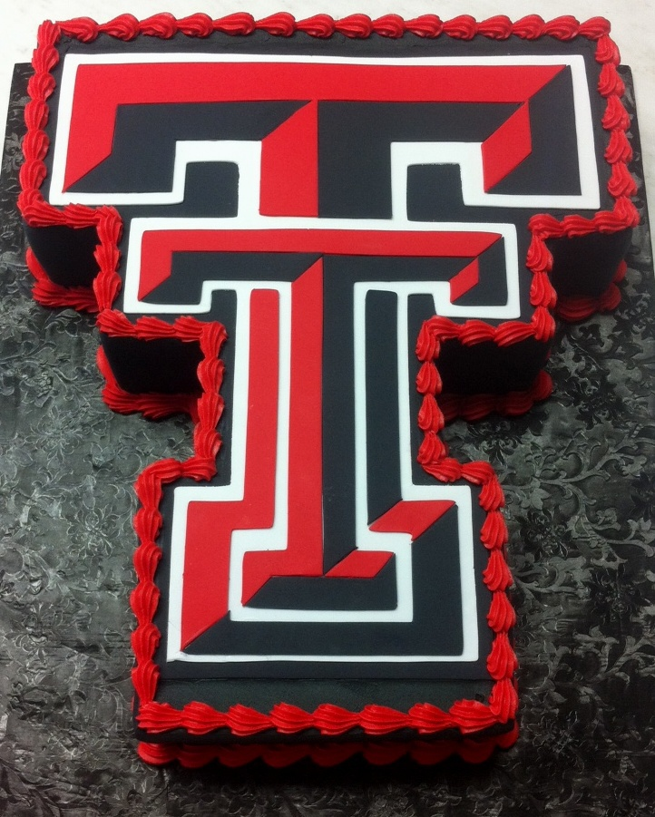 Texas Tech grooms cake