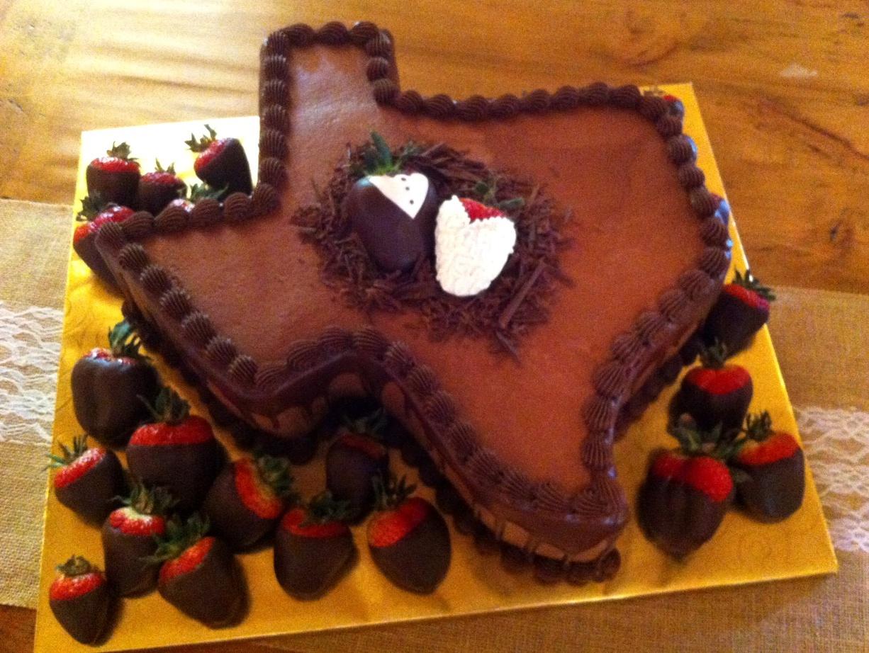 texas grooms cake