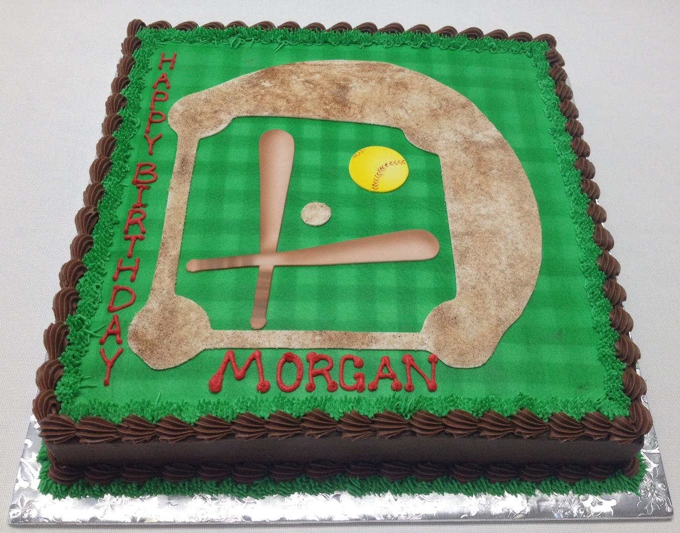 softball cake
