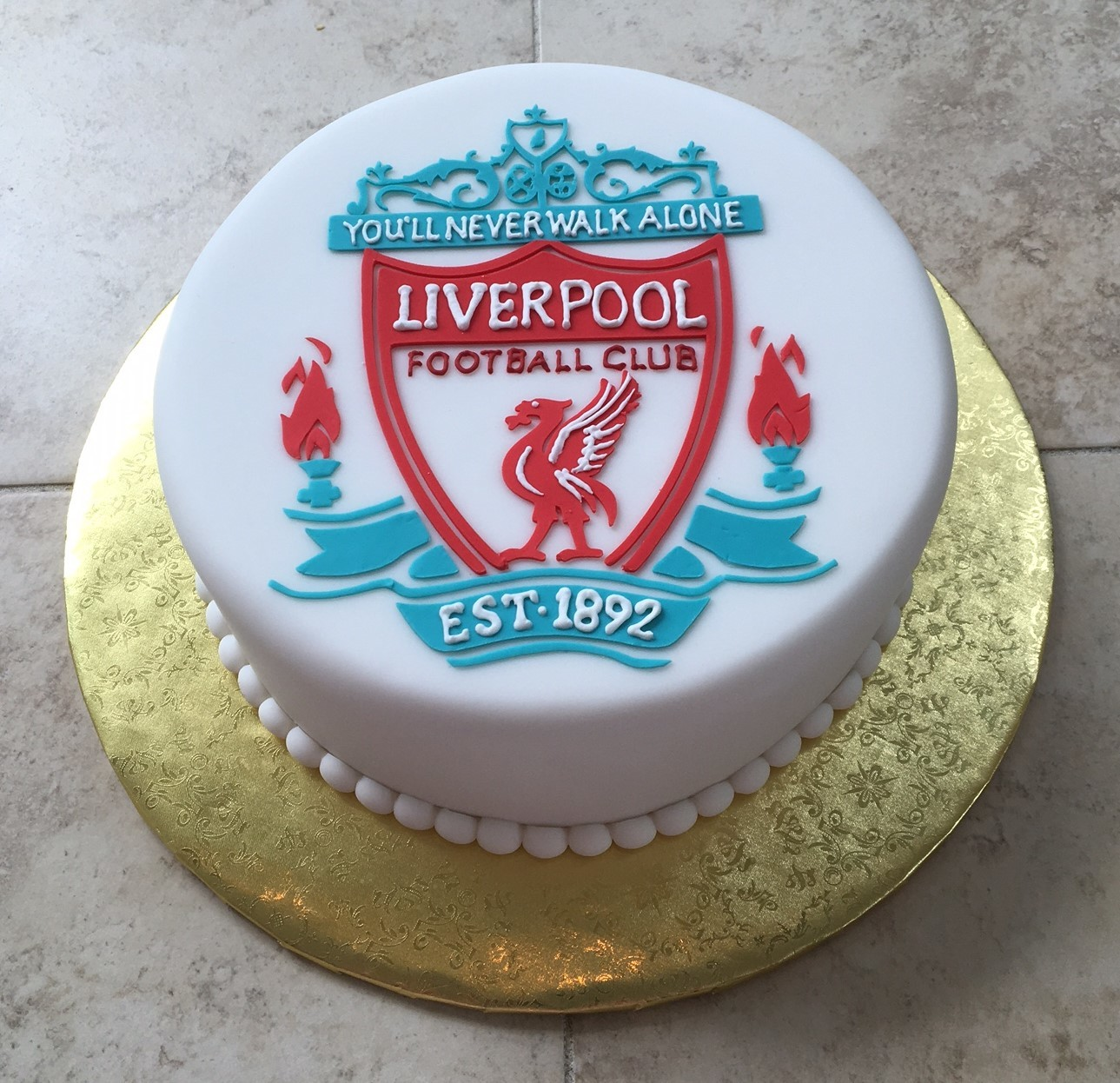 grooms fruit cake, liverpool fc