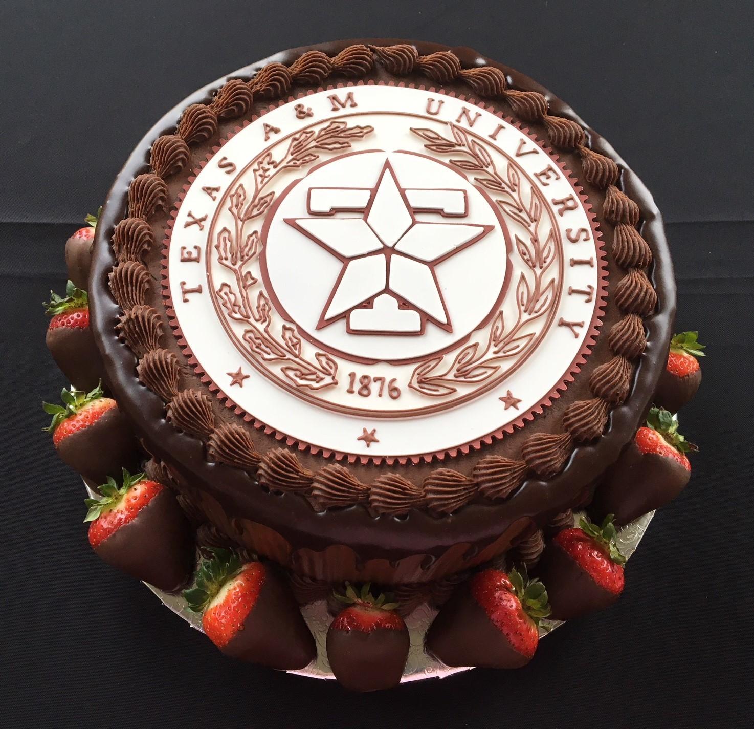 Texas A & M cake