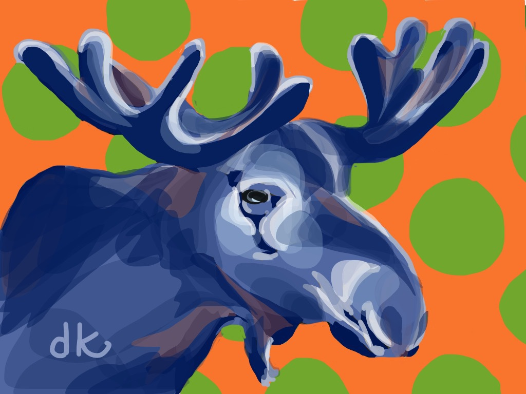 Once In A Bllue Moose