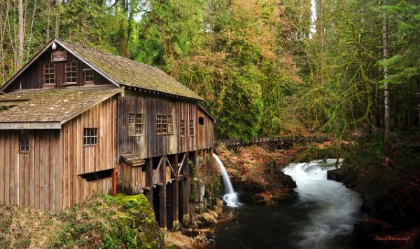 Southwest Washington Cedar Creek Grist Mill Tour Guiding Services