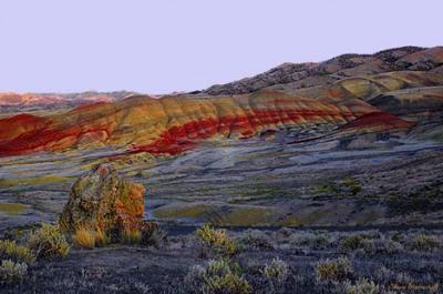 Painted Hills Fossil Beds Tour Guiding Services