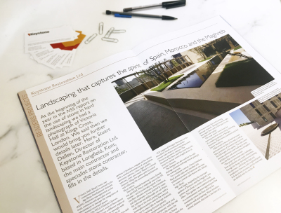 News - Featured in The Natural Stone Specialist