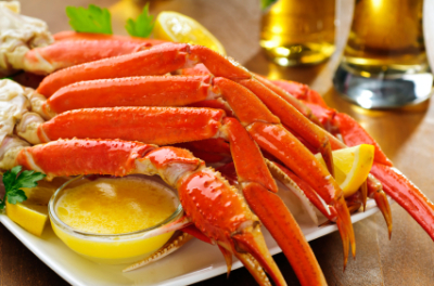 Jumbo Juice Crab Legs