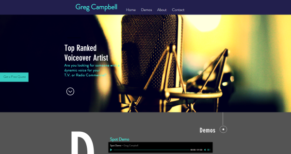 Greg Campbell Voiceovers