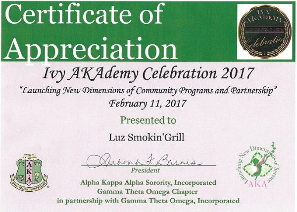 AKA Ivy AKAdemy Appreciation