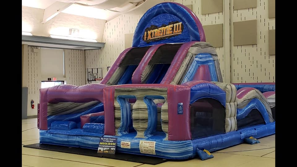 Inflatable Maze obstacle course rentals Lancaster Pa