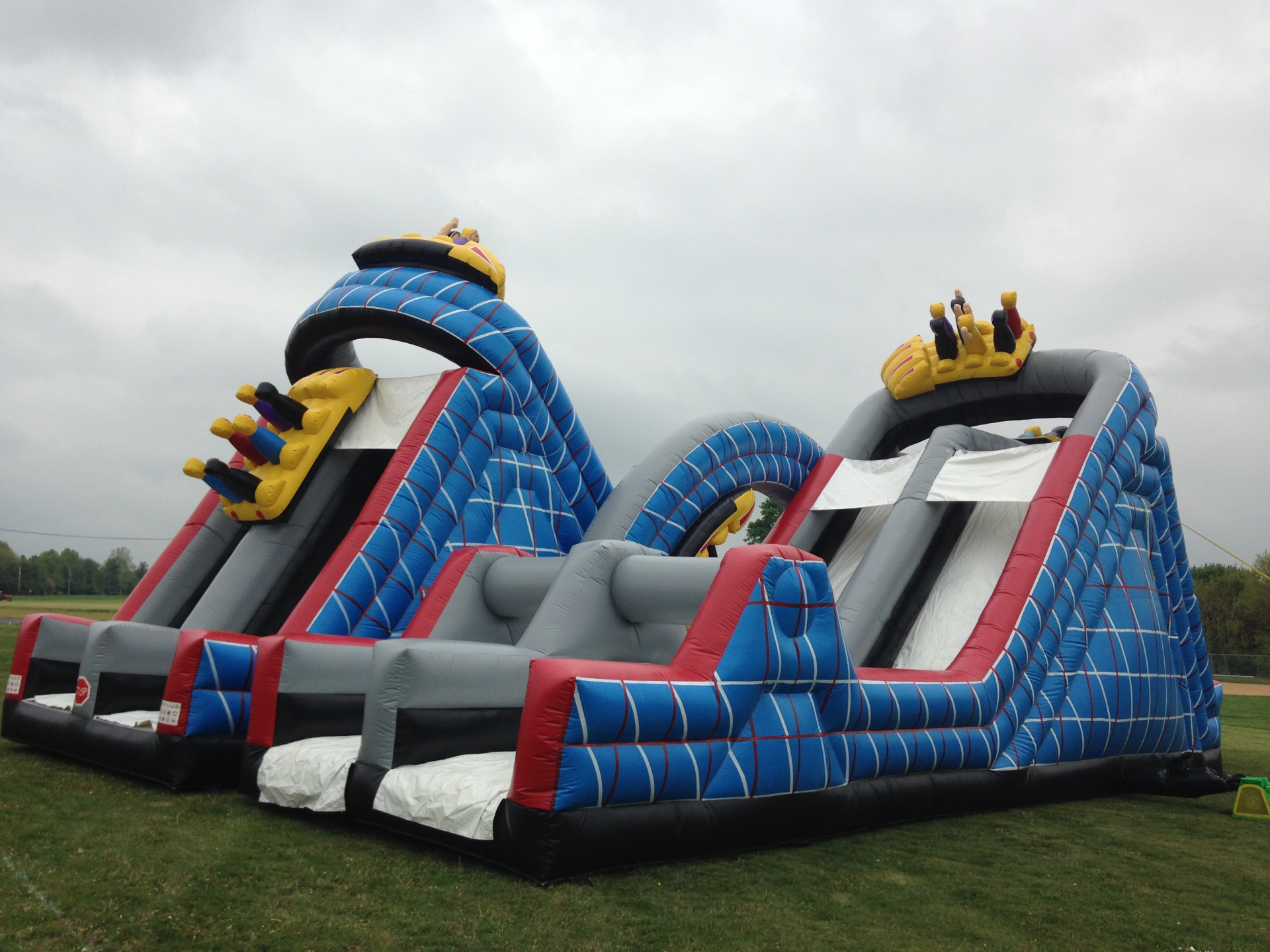 Inflatable Wild One Roller Coaster ObstacleRentals Lancaster Pa