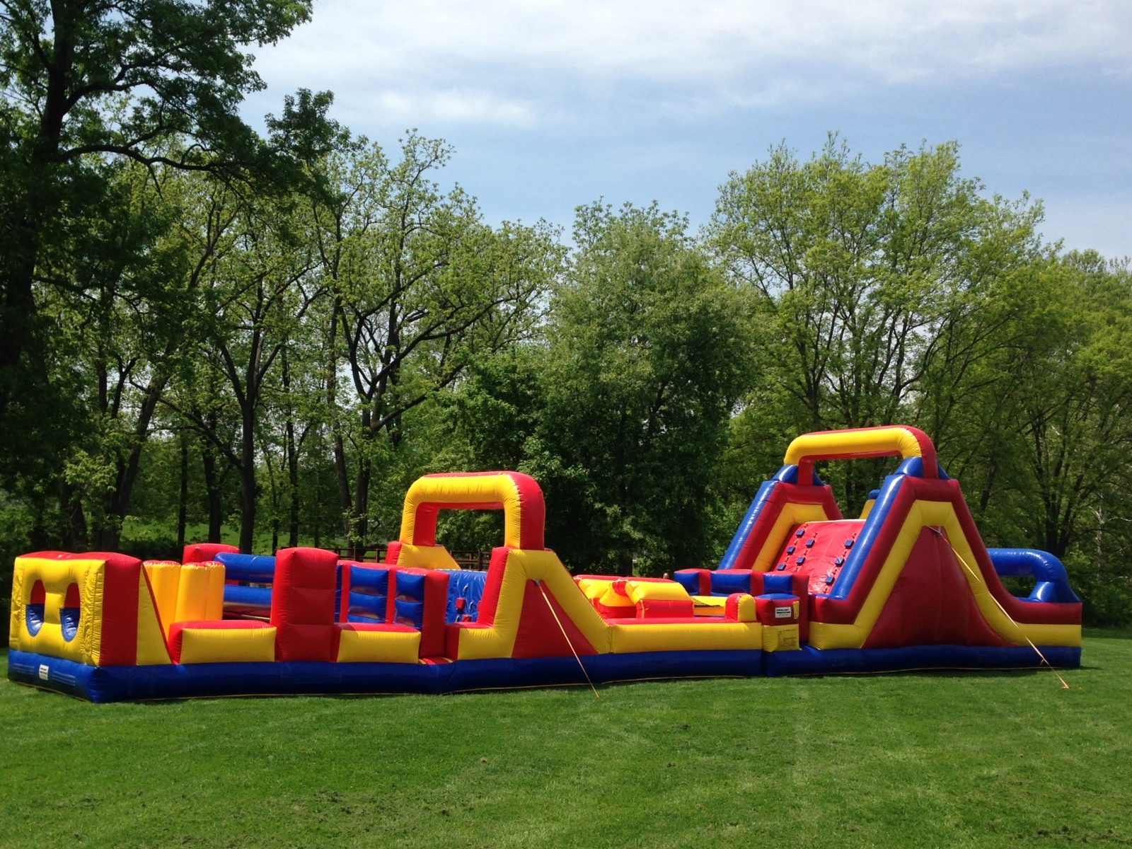 68' Extreme Obstacle Course Rentals Lancaster Pa
