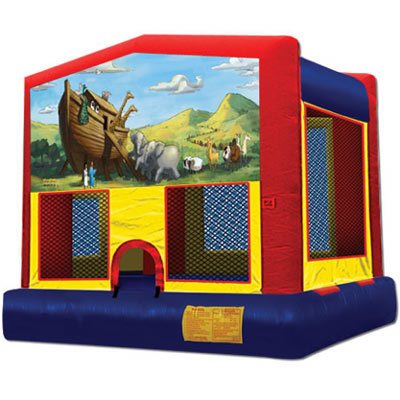 Inflatable Noah's Ark Bouncer