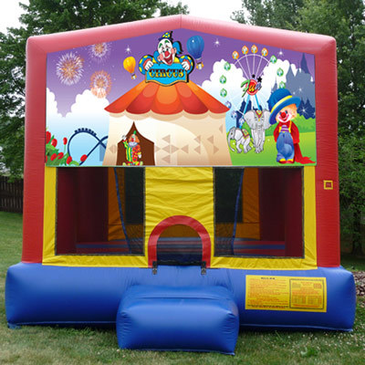 Inflatable Circus Themed Bouncer