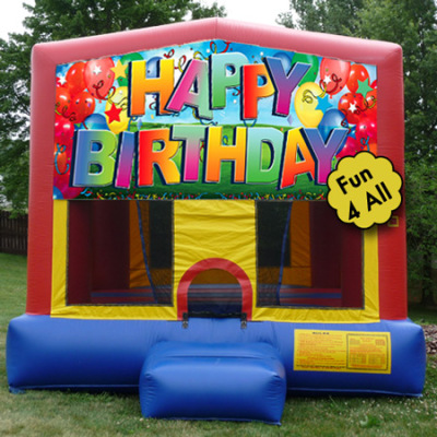 Inflatable Happy Birthday Bounce
