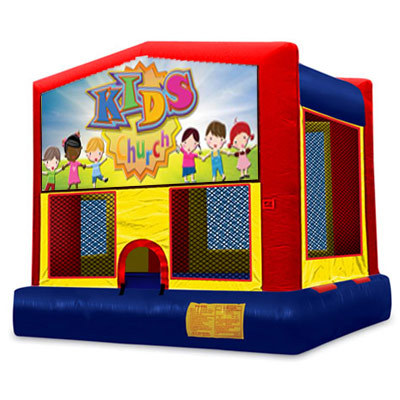 Inflatable Kids Church Bouncer